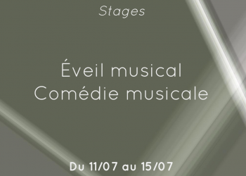 stage eveil musical