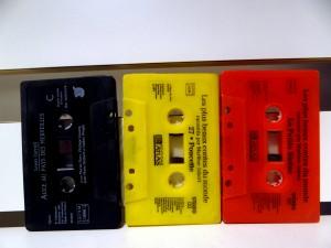 cassettes NJR